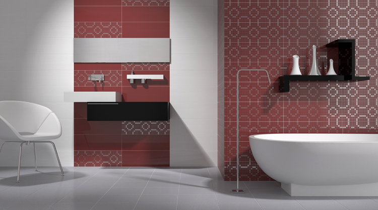 carrelage motifs g om triques mood. Black Bedroom Furniture Sets. Home Design Ideas