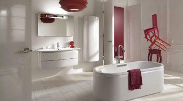 salle de bains raffinée