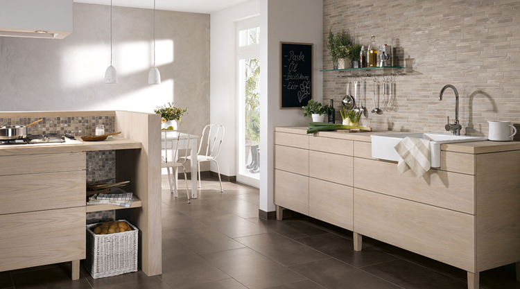 cuisine style naturel. Black Bedroom Furniture Sets. Home Design Ideas