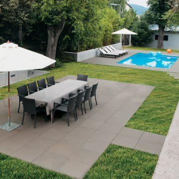 grande dalle terrasse cool dalles pour terrasses en bton. Black Bedroom Furniture Sets. Home Design Ideas