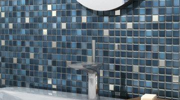 mosaïque salle de bains