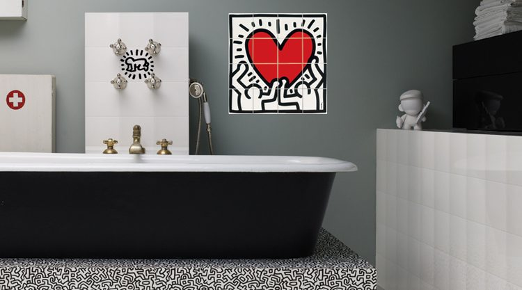 carrelage keith haring