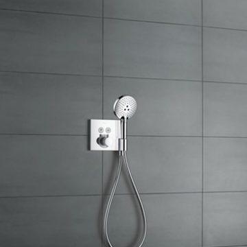 colonne de douche encastree
