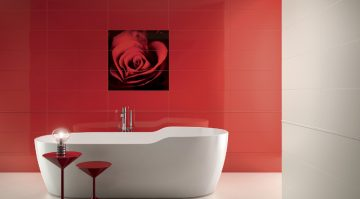 salle de bains glamour