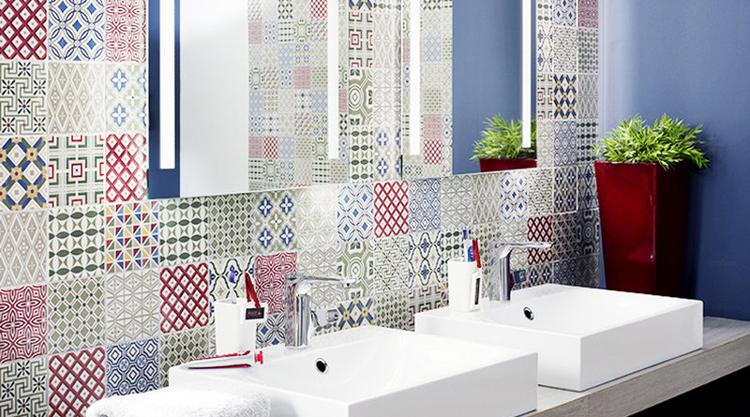 faience patchwork. Black Bedroom Furniture Sets. Home Design Ideas