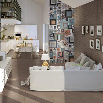Galeriewohnung in neubau Mehrfamilienhaus