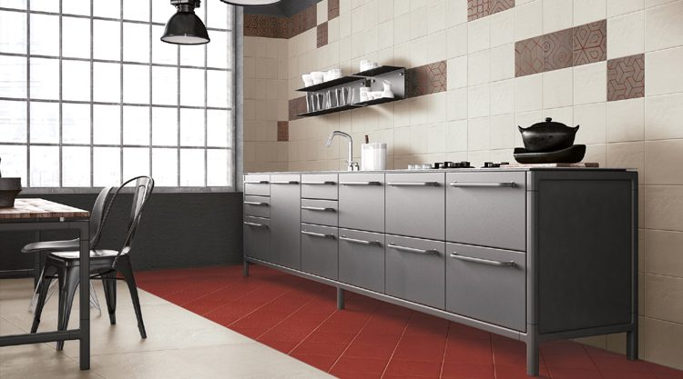 interior, beautiful kitchen. 3d rendering