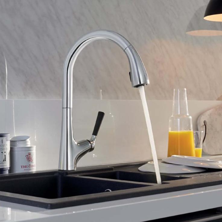 mitigeur cuisine malleco. Black Bedroom Furniture Sets. Home Design Ideas