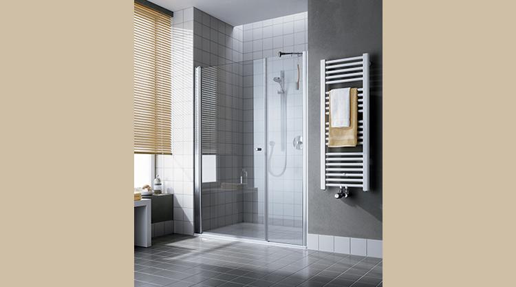 paroi de douche confortable