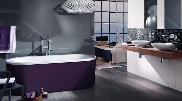 baignoire moderne