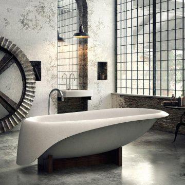 baignoire concrete1