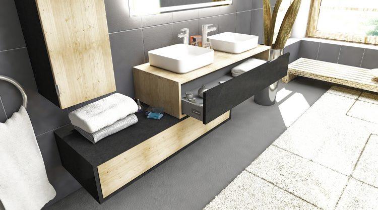 meuble salle de bain dellen