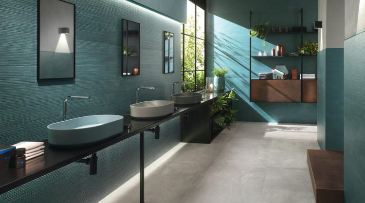carrelage salle de bains raw